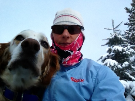 Epic Athlete Karen Waeschle bears epic temperatures.